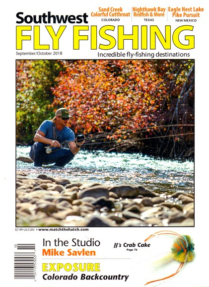 Southwest Fly Fishing Cover - 9/1/2018