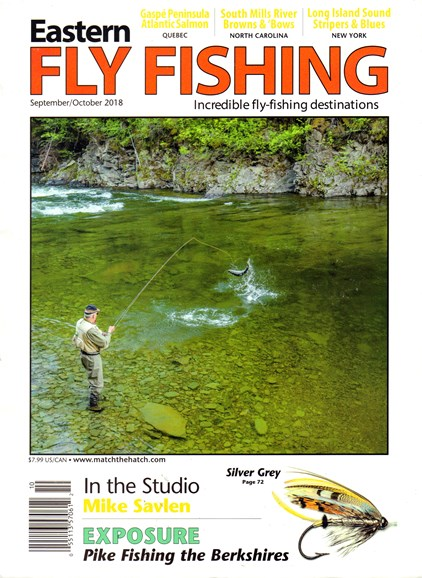 Eastern Fly Fishing Cover - 9/1/2018