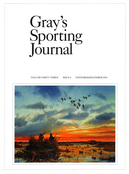 Gray's Sporting Journal Cover - 11/1/2018