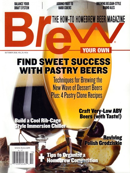 Brew Your Own Cover - 10/1/2018