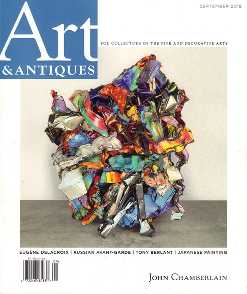 Art & Antiques Cover - 9/1/2018