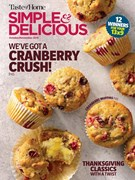 Simple & Delicious Magazine 10/1/2018