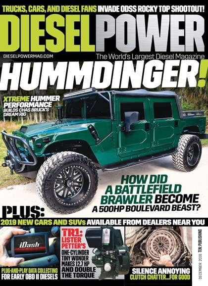 Diesel Power Cover - 12/1/2018
