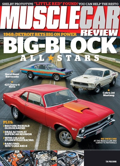Muscle Car Review Cover - 11/1/2018