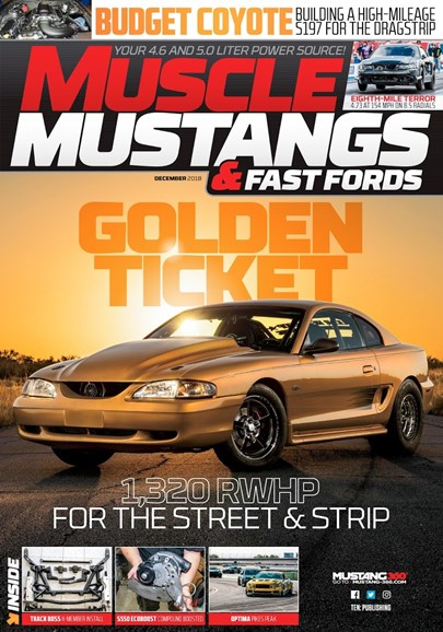 Muscle Mustangs & Fast Fords Cover - 12/1/2018