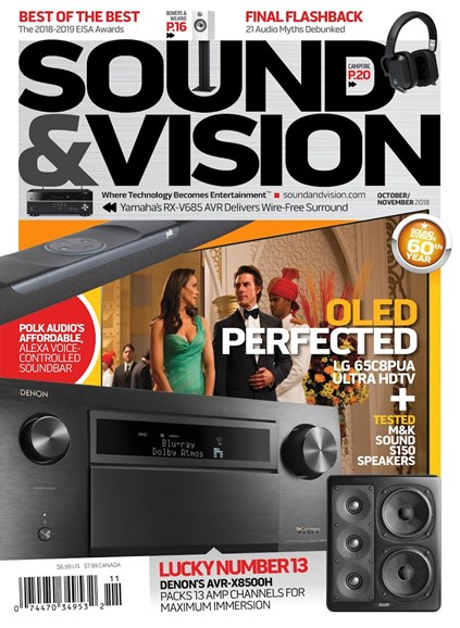 Sound & Vision Cover - 10/1/2018