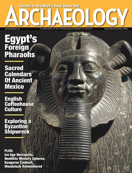 Archaeology Cover - 9/1/2018