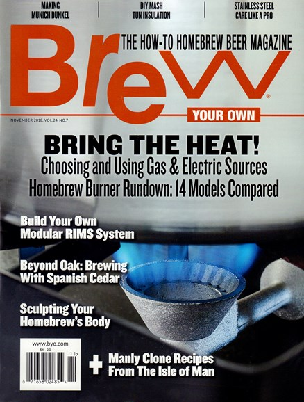 Brew Your Own Cover - 11/1/2018