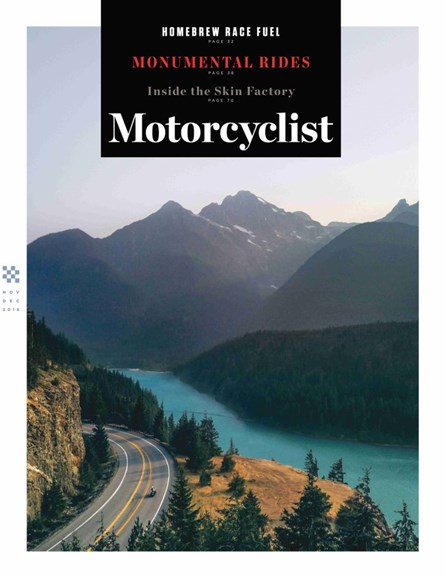 Motorcyclist Cover - 11/1/2018