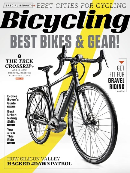 Bicycling Cover - 11/1/2018