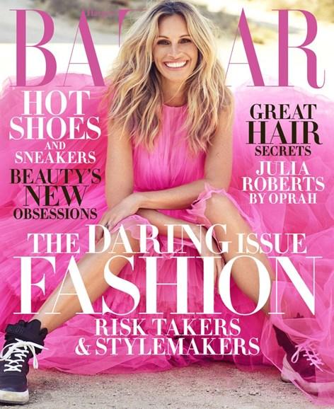 Harper's Bazaar Cover - 11/1/2018
