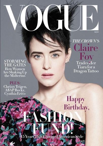 Vogue Cover - 11/1/2018