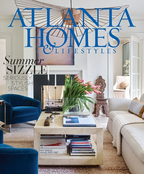 Atlanta Homes & Lifestyles Cover - 8/1/2018