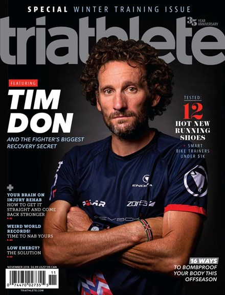 Triathlete Cover - 11/1/2018