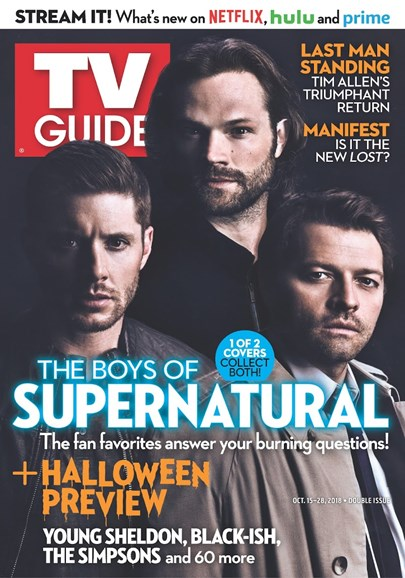 TV Guide Cover - 10/15/2018