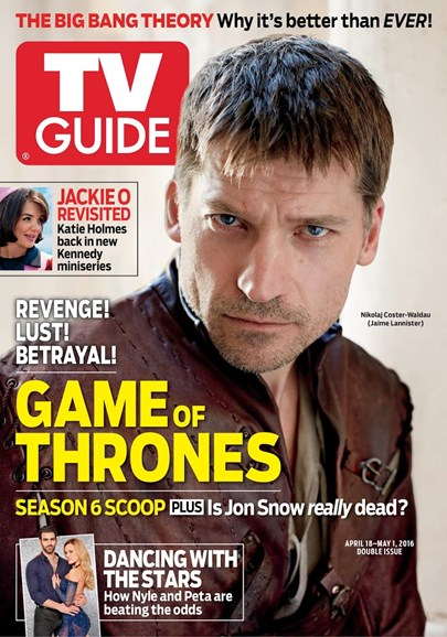 TV Guide Cover - 4/18/2016