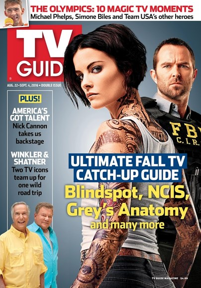 TV Guide Cover - 8/22/2016