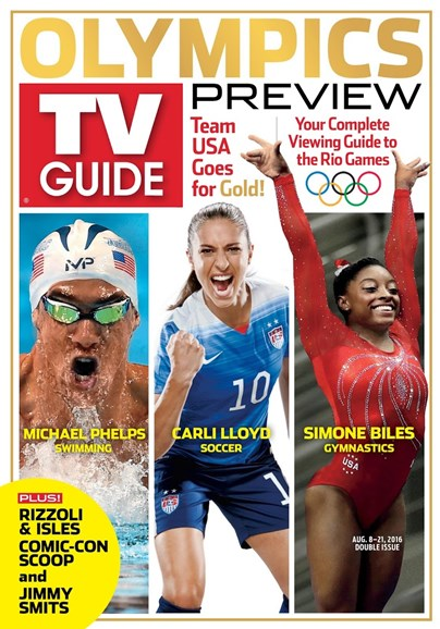 TV Guide Cover - 8/8/2016