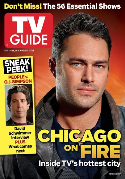 TV Guide Cover - 2/15/2016