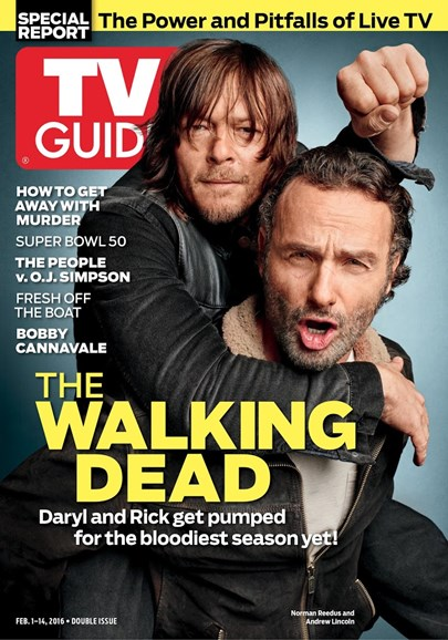 TV Guide Cover - 2/1/2016