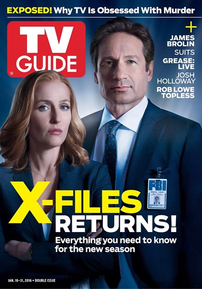 TV Guide Cover - 1/18/2016