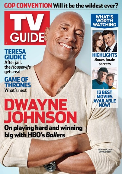 TV Guide Cover - 7/11/2016