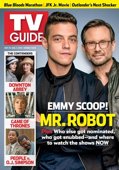 TV Guide Cover - 7/25/2016