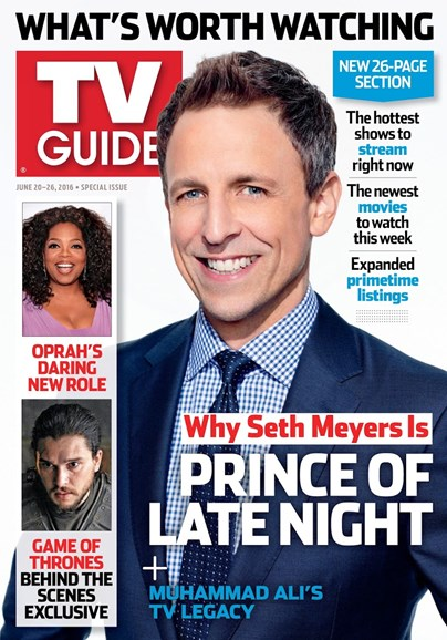 TV Guide Cover - 6/20/2016