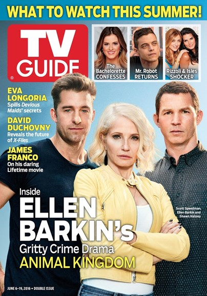 TV Guide Cover - 7/6/2016