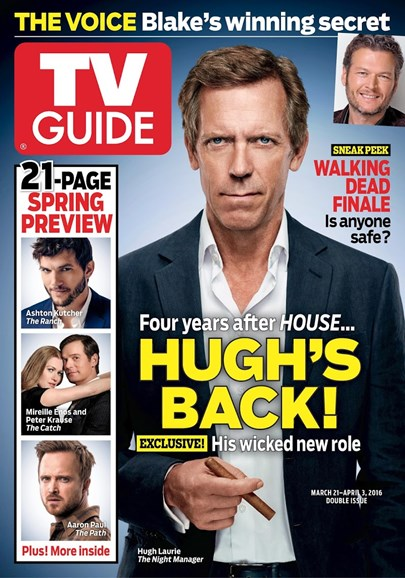 TV Guide Cover - 3/21/2016