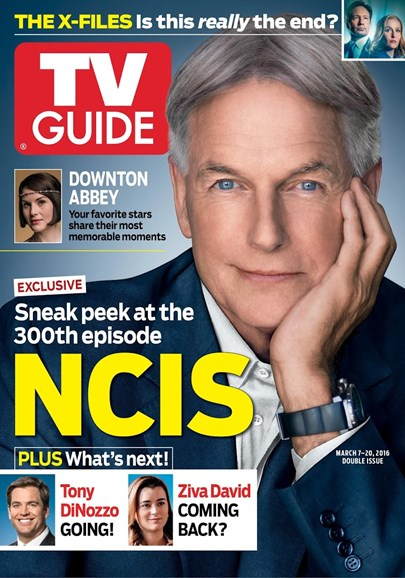 TV Guide Cover - 3/7/2016