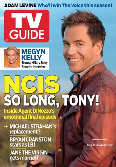 TV Guide Cover - 5/9/2016