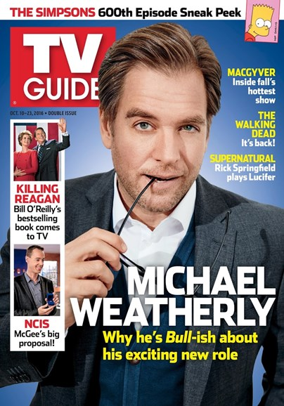 TV Guide Cover - 10/10/2016