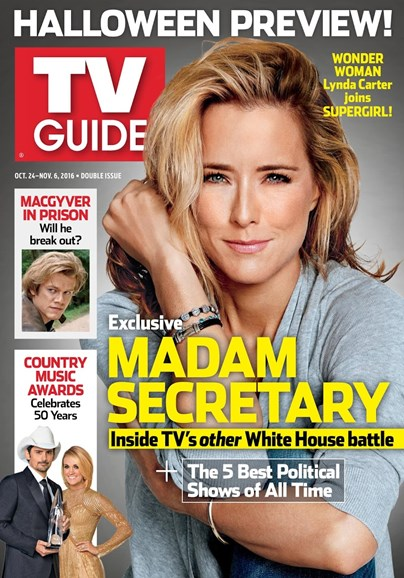 TV Guide Cover - 10/24/2016