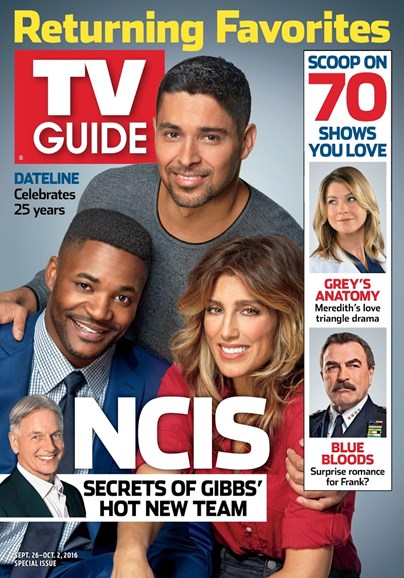TV Guide Cover - 9/26/2016