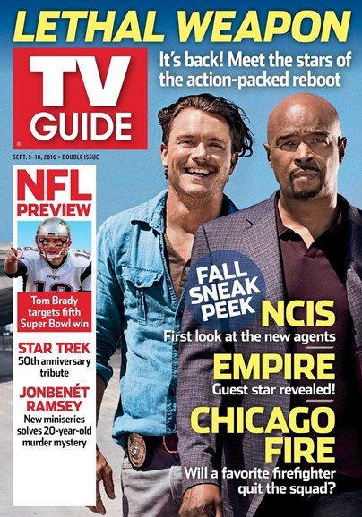TV Guide Cover - 9/5/2016