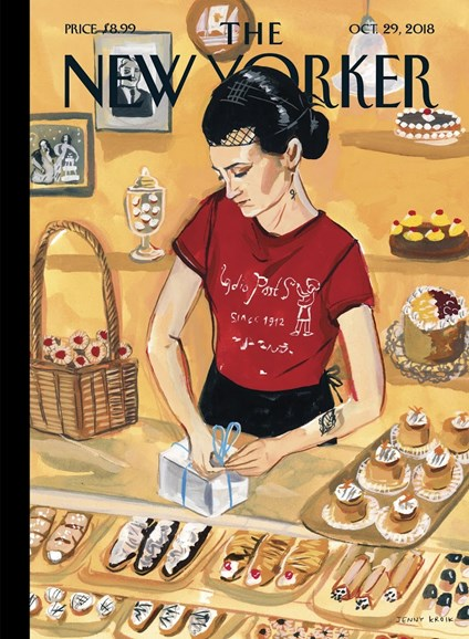 The New Yorker Cover - 10/29/2018