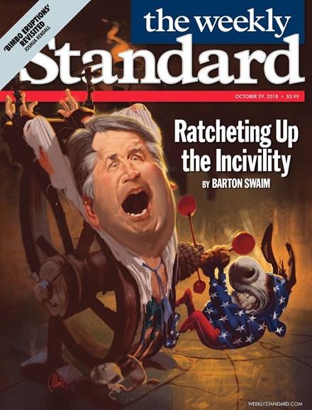Washington Examiner Cover - 10/29/2018