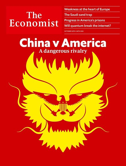 The Economist Cover - 10/20/2018
