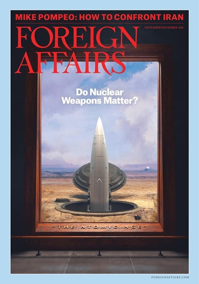 Foreign Affairs Cover - 11/1/2018