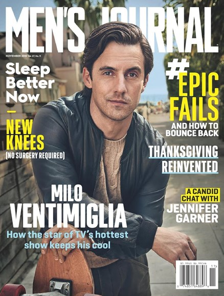 Men's Journal Cover - 11/1/2018