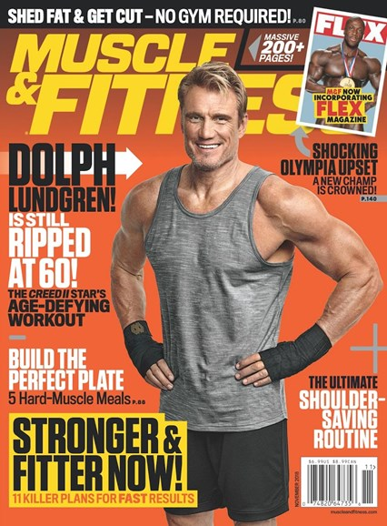 Muscle & Fitness Cover - 11/1/2018