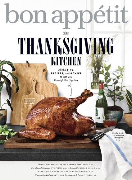 Bon Appétit Cover - 11/1/2018