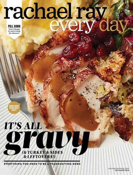 Rachael Ray Every Day Cover - 11/1/2018