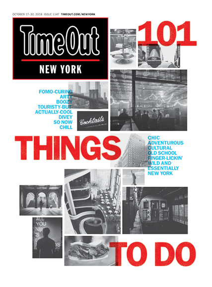 Time Out New York Cover - 10/17/2018