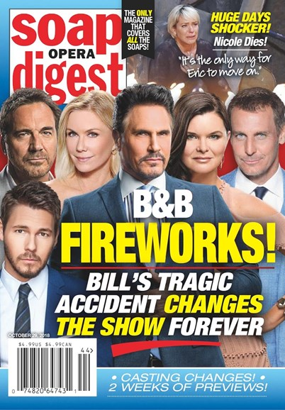 Soap Opera Digest Cover - 10/29/2018