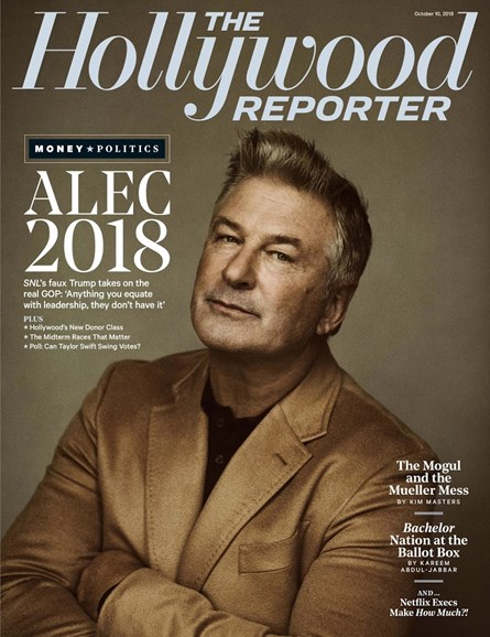 The Hollywood Reporter Cover - 10/10/2018