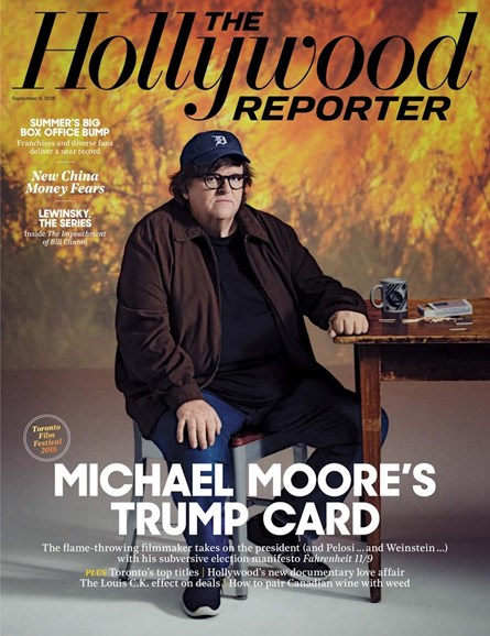 The Hollywood Reporter Cover - 9/5/2018
