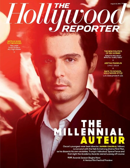 The Hollywood Reporter Cover - 8/22/2018