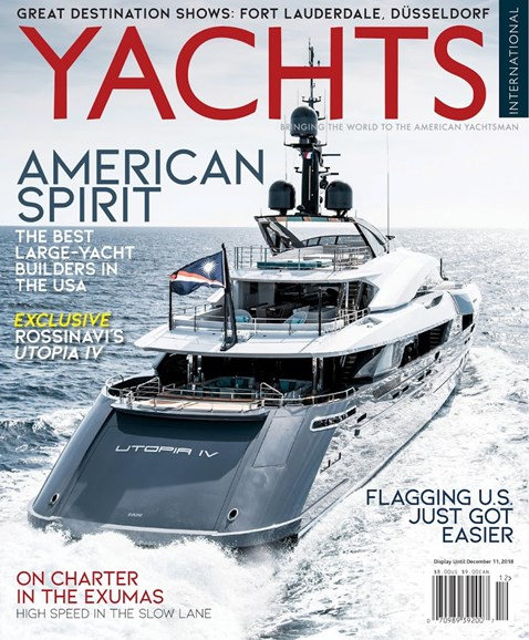 Yachts International Cover - 11/1/2018